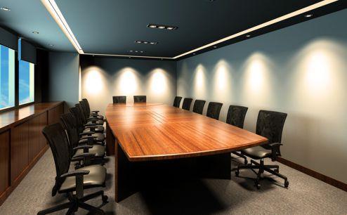 Фотографии расстановки источников света в офисе